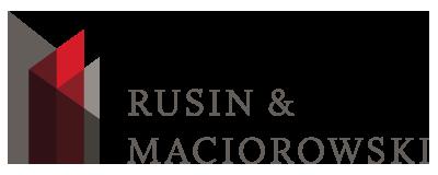 Rusin & Maciorowski Logo